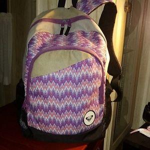 Roxy Backpack Like New!!